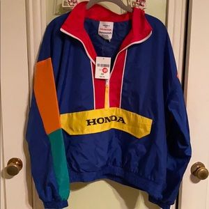 New!! Honda Pull Over Jacket w/tags!
